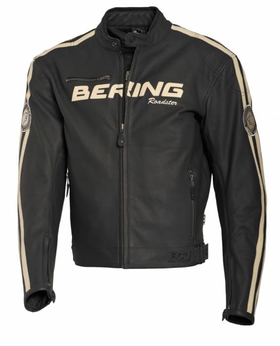 BERING kožená bunda Scalp, BLK