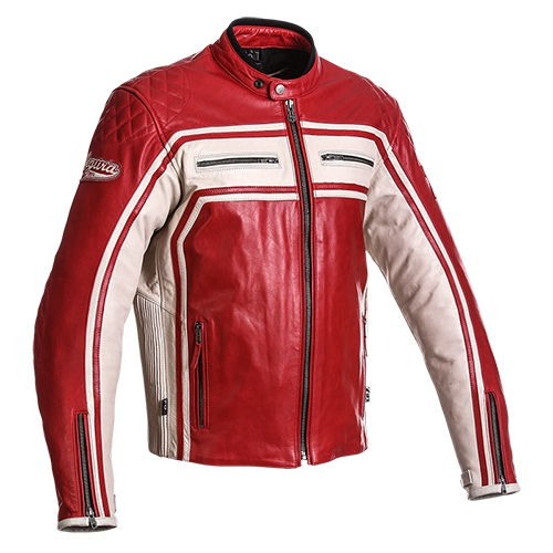 SEGURA kožená bunda Jones, RED