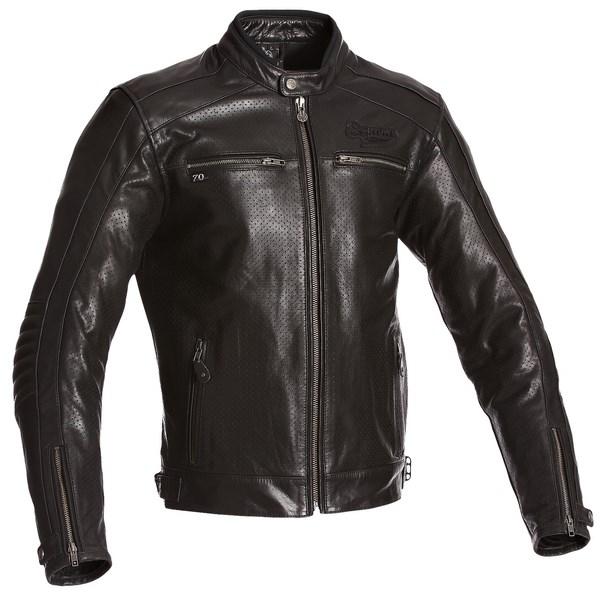 SEGURA kožená bunda Iron, BLK