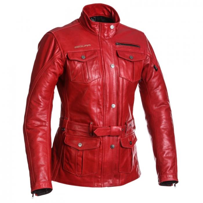 SEGURA kožená bunda Havana lady, RED