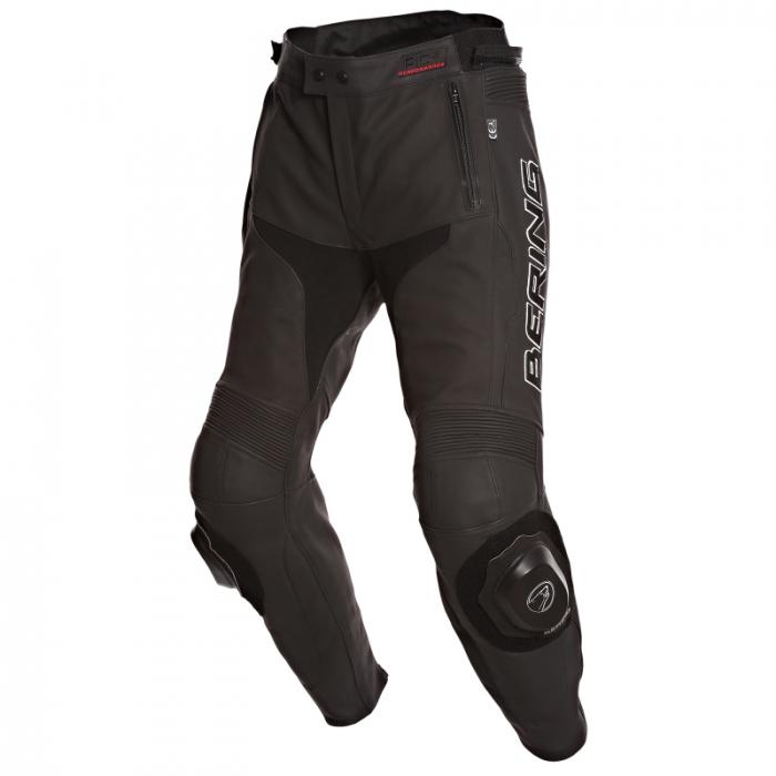 BERING kožené kalhoty Slide-R, BLK