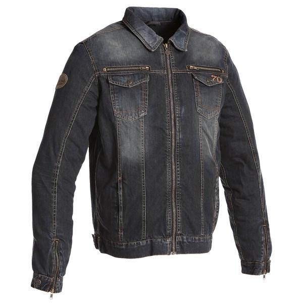 SEGURA textilní jeans bunda Sullivan, BLU