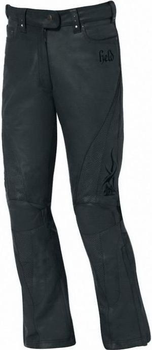 HELD kožené kalhoty Vanessa, BLK