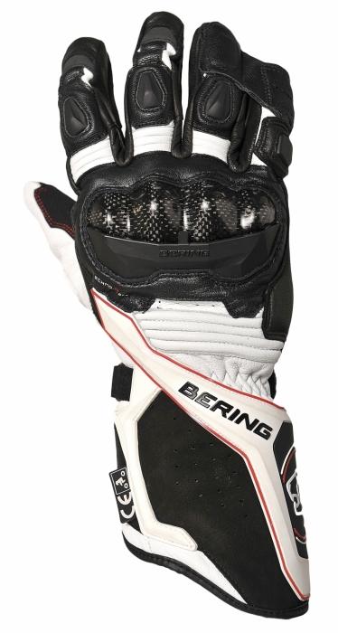 BERING rukavice VX1, BLK/RED