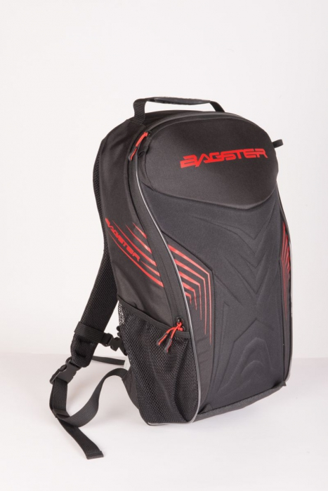 BAGSTER batoh Racer, BLK/RED