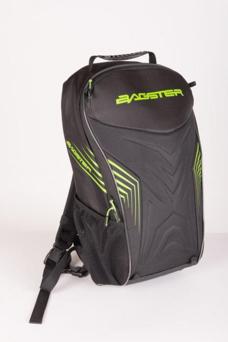 BAGSTER batoh Racer, BLK/GREEN