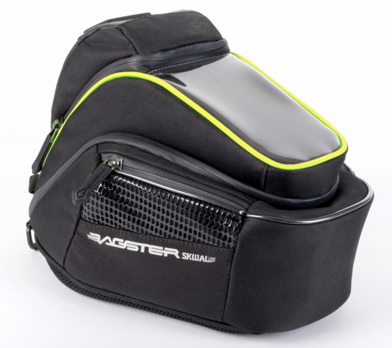 BAGSTER tank bag Matrix 6L, BLK/FLUO